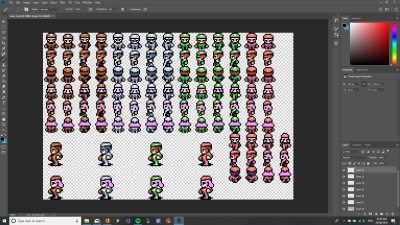 Making/Modifying Sprites